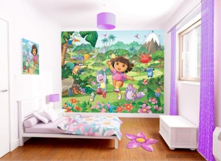 404 not found for Dora wall mural