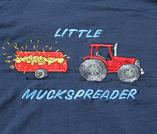 Little Muck Spreader tractor tshirt