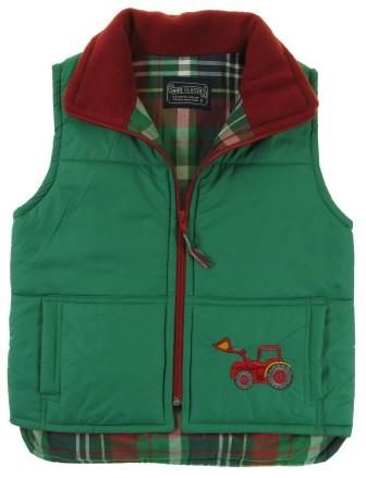 Tractor & Digger Bodywarmer green